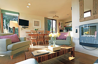 Cornwall Open Plan Living Space In Praze Lodge At The Park